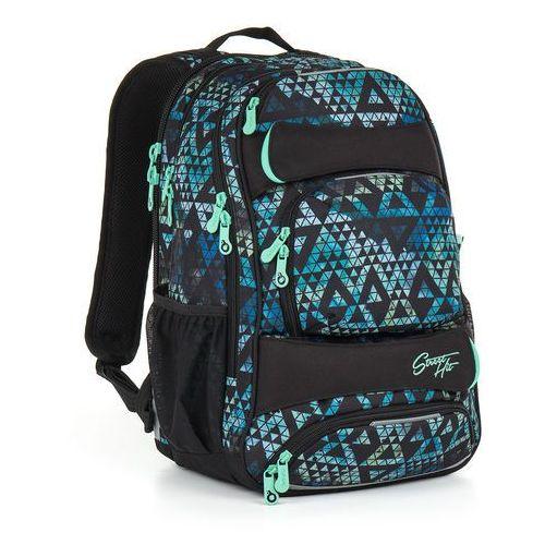 Topgal Plecak młodzieżowy hit 888 e - green
