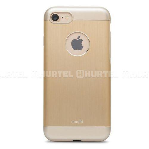 Moshi Etui aluminiowe do iPhone 7, złote (99MO088231) Darmowy odbiór w 21 miastach!