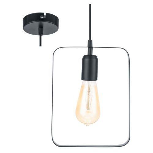 Eglo 49776 - Lampa wisząca BEDINGTON 1xE27/60W, kolor czarny