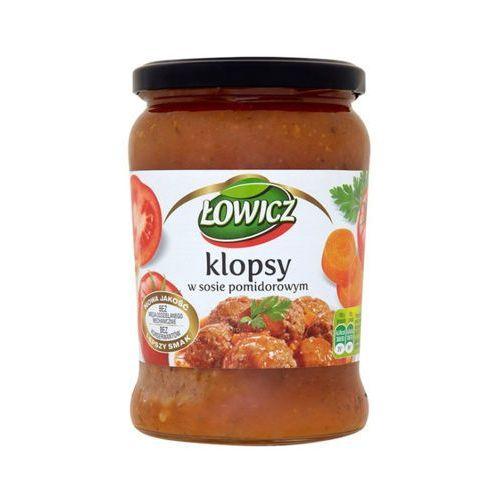 580g klopsy w sosie pomidorowym marki Łowicz