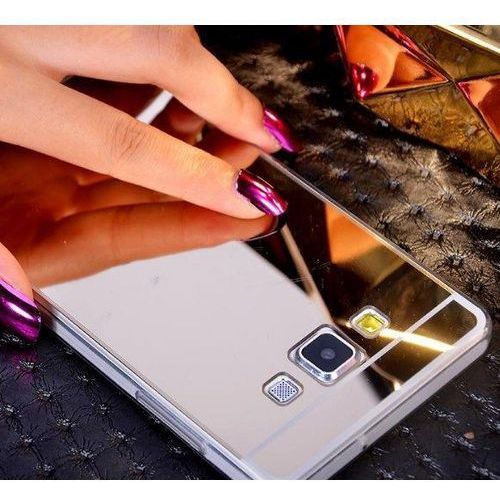 case srebrny | etui dla samsung galaxy j5 - srebrny marki Slim mirror