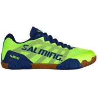 hawk shoe men fluo green navy blue marki Salming