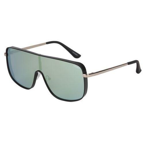 Okulary słoneczne qc-000218 quayxkylie unbothered blk/mnt marki Quay australia