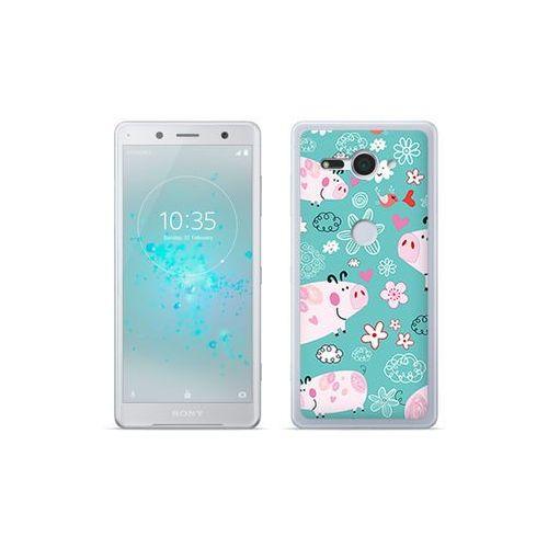 etuo Fantastic Case - Sony Xperia XZ2 Compact - etui na telefon Fantastic Case - różowe świnki