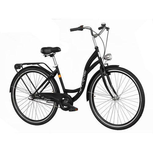 Dawstar Rower DAWSTAR Citybike S3B Czarny + DARMOWY TRANSPORT!