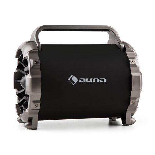 auna Blaster M przenośny głośnik Bluetooth efekt świetlny LED AUX SD USB UKF