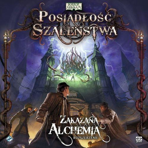 Posiadłość szaleństwa: zakazana alchemia wyprodukowany przez Fantasy flight games