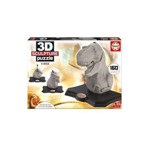 Educa Puzzle 3d rzeźba t-rex (8412668169678)