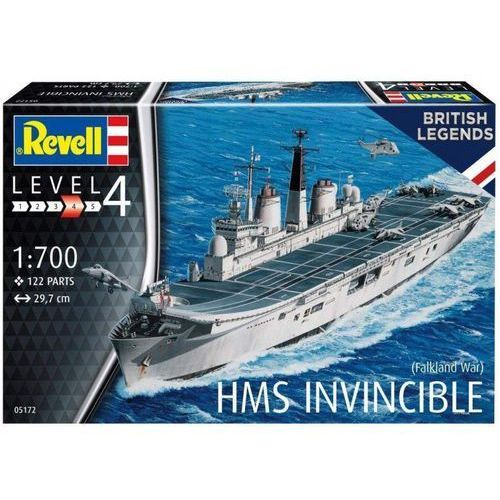 Model plastikowy hms invincible falkland war marki Revell