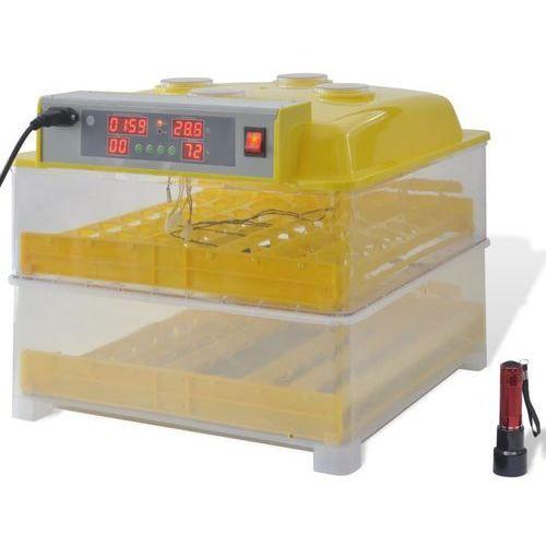 vidaXL Automatyczny inkubator do jajek / Wylęgarka na 96 jaj