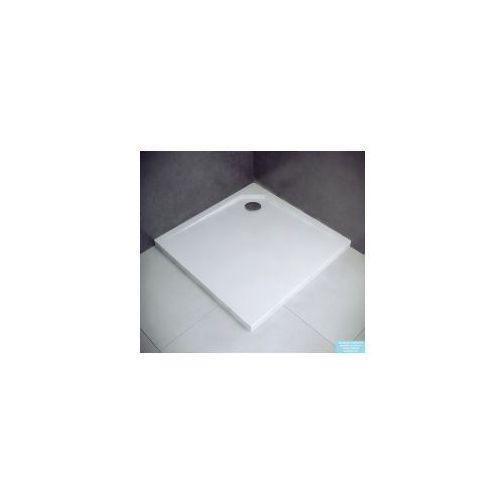BESCO ACRO Brodzik kwadratowy 80x80x2, odlew mineralny, PMD_BRODZIK_ACRO_80x80