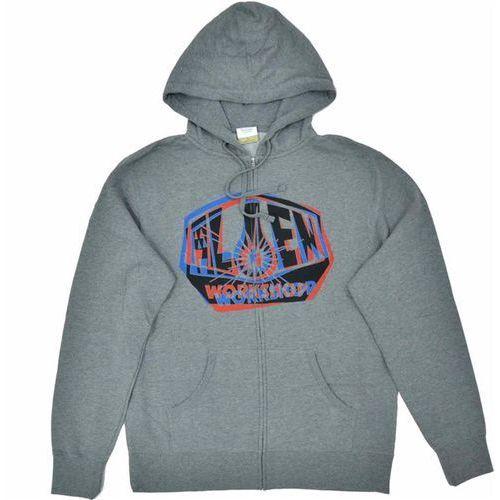Bluza - og shift zip up chrcl hthr (seda) rozmiar: m marki Alien workshop