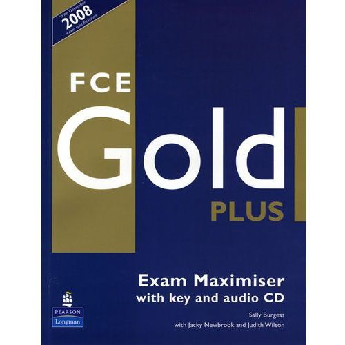 New First Certificate Gold Plus Exam Maximiser (z Kluczem) + Audio CD, Pearson