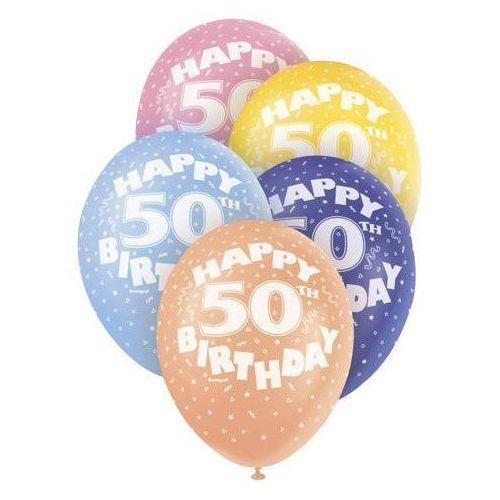 Unique Balony pastelowe 50 - 31 cm - 5 szt.