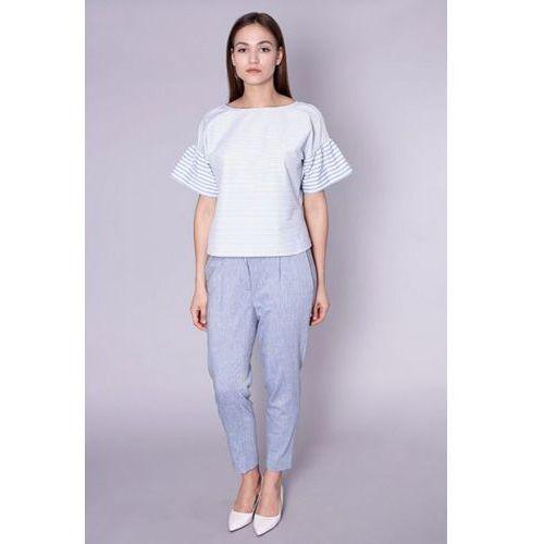 Spodnie damskie model mazara 8521 blue, Click fashion