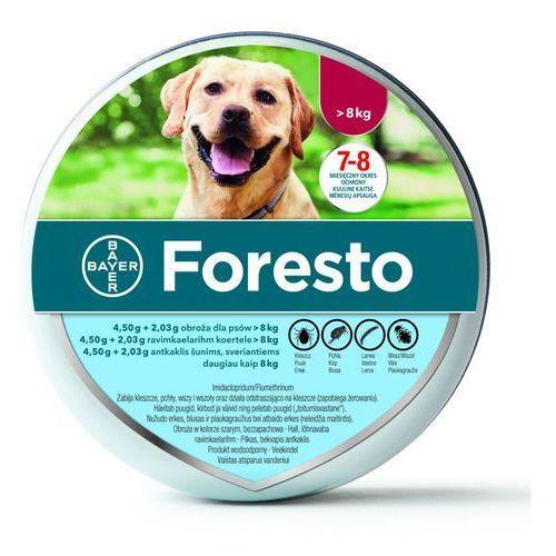 foresto obroża dla psów dużych 70cm + drontal 2 tab - 1 tab na 35kg marki Bayer