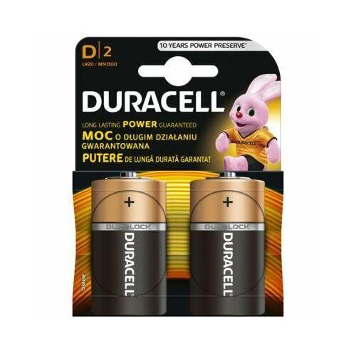 Baterie D LR20 DURACELL Basic (2 szt.)