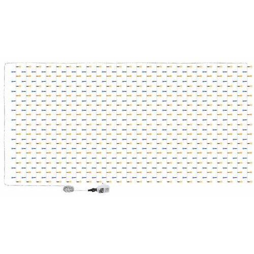 Voltronic ® Dwukolorowa kurtyna świetlna zwisające lampki sople 6x3m 600 diod - ciepło-zimne / 6x3m / 600 led (4048821770555)