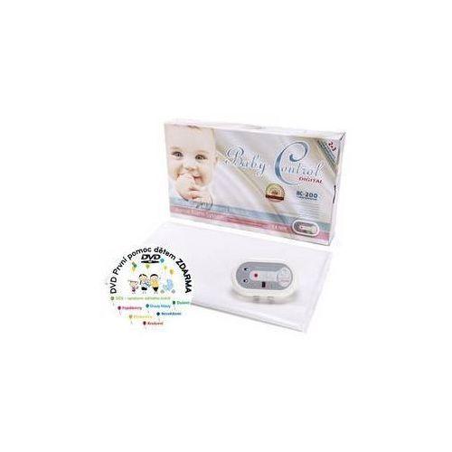 Baby control Monitor oddechu bc-200, jedna jednostka sterująca biała