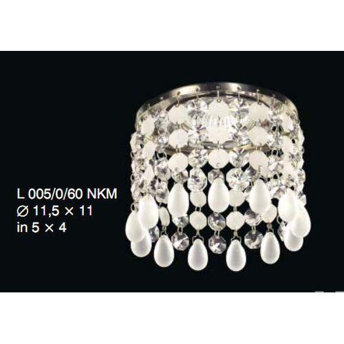 Oprawa halogenowa z kryształkami Swarovskiego - Elite Bohemia, L 005/0/60 N/KN