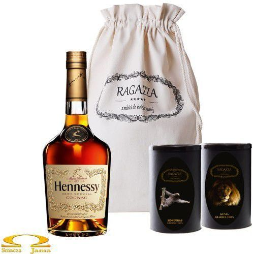 Zestaw Kaw Ragazza+ Hennessy VS 0,5l, 9033-413E6