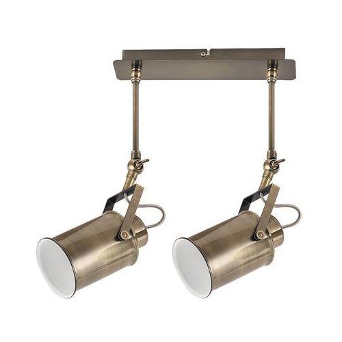 Listwa lampa sufitowa spot Rabalux Peter 2x60W E27 antyczny brąz 5982, 5982
