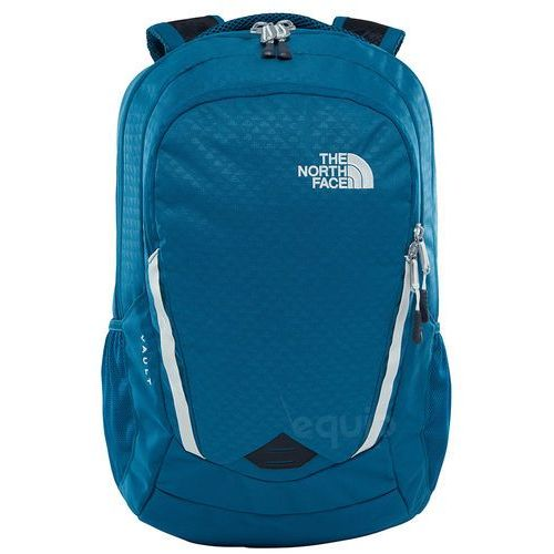 Plecak damski w vault - blue coral emboss/vintage white marki The north face
