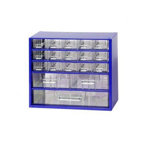 Metalowe szafki z szufladami, 15+2+1 szuflad (8595004167603)