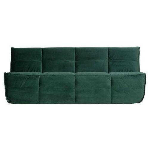 Woood Sofa Cluster 3-osobowa velvet zielona 375141-G, 375141-G