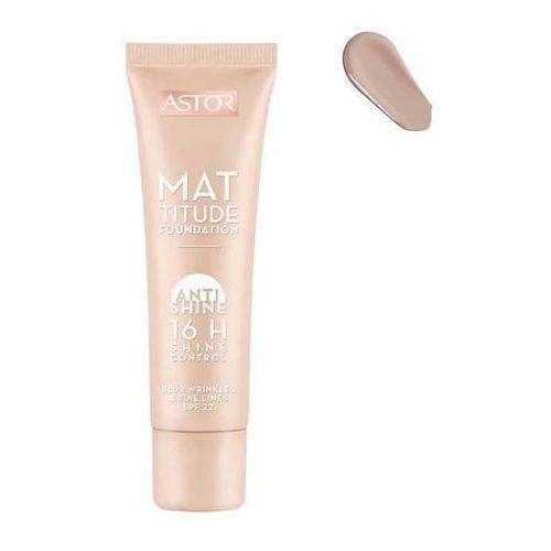 Mattitude Foundation Anti Shine 16H podkład matujący SPF22 101 Rose Ivory 30ml