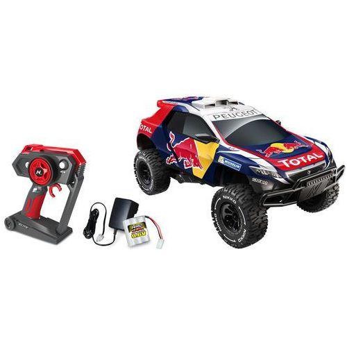 Nikko Samochód zabawka sterowany radiem, Evo Redbull Peugeot, 1:14