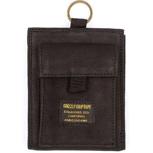 portfel GRIZZLY - Ggc Wallet Black/Black (BKBK) rozmiar: OS