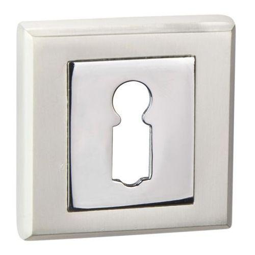 Szyld drzwiowy Schaffner Clara na klucz perła / chrom, SLKPE/CR