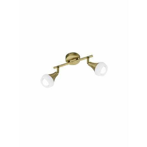 Trio -leuchten trumpet lampa sufitowa mosiądz, 2-punktowe - dworek - obszar wewnętrzny - trumpet - czas dostawy: od 3-6 dni roboczych (4017807353259)