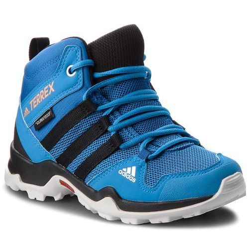 Buty adidas - Terrex AX2R Mid Cp K AC7975 Blubea/Cblack/Hireor, kolor niebieski