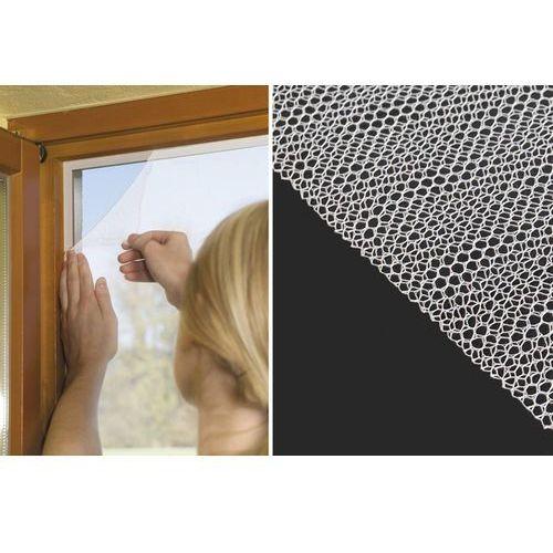 Iso Moskitiera okienna na okno 150x130cm taśma rzep 5m