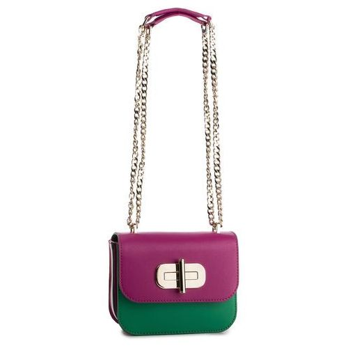 Tommy hilfiger Torebka - turnlok mini crossover aw0aw07046 903
