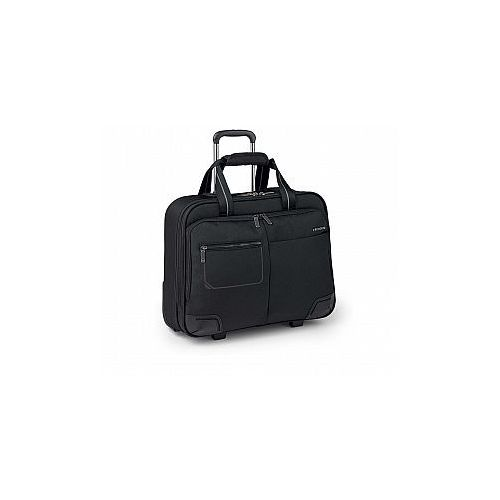 Roncato Pilotka biznesowa z kieszenią na laptopa do 15,6' i ubranie, 2 kółka, zamek szyfrowy tsa, nylon, marki kolekcja wall street - kolor czarny