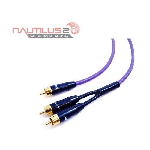 Melodika MDSWY30 Kabel subwooferowy typu Y 1xRCA-2xRCA 3m - 5 lat gwarancji! - Dostawa 0zł