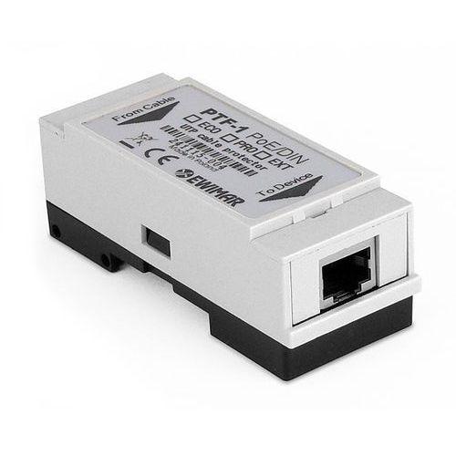 PTF-1-PRO/PoE/DIN Zabezpieczenie przepięciowe LAN serii PROFESSIONAL na szynę DIN