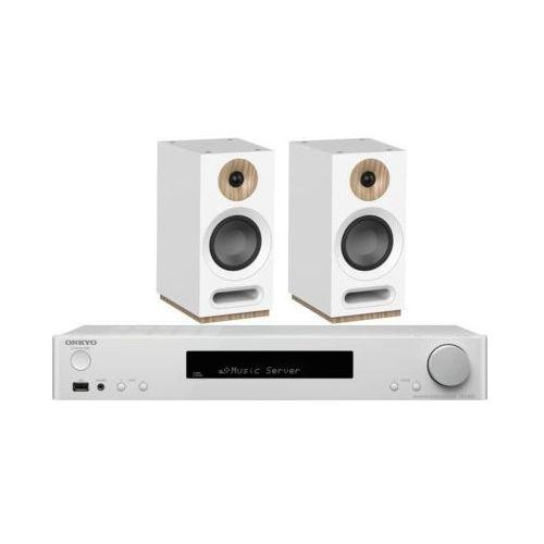 Zestaw stereo ONKYO TX-L20D Biały + JAMO S 803 Biały (2905269723531)