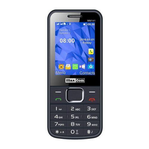 MaxCom MM141 Classic Dual SIM Szary | PL | bez SIM | Faktura 23%