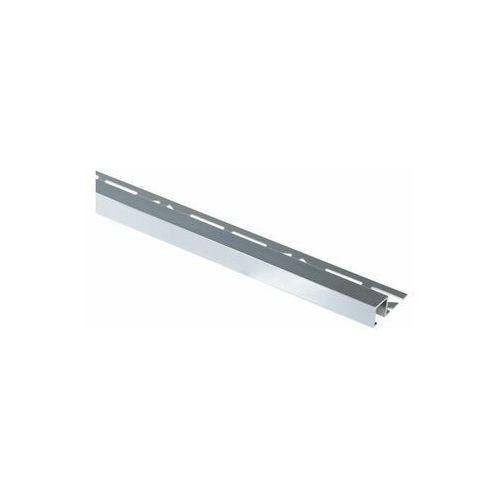Cezar Profil wykończeniowy aluminium kwadrat 11 x 8 mm / 2.5 m lux opal (5904584807206)