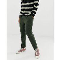 Weekday Thriller joggers in khaki - Green, kolor zielony