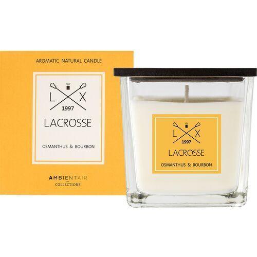Świeca zapachowa osmanthus & bourbon 8x8 lacrosse - osmantus and bourbon