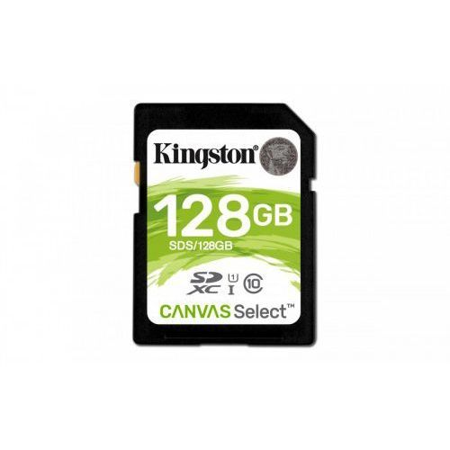 Kingston Karta pamięci sdhc canvas select 128gb uhs-i class 10 (0740617275438)
