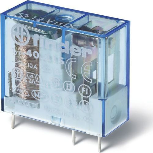 Przekaźnik 1no 10a 110v dc styki agni+au 40.31.7.110.5300 marki Finder