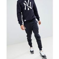 new york yankees joggers with large logo in navy - navy marki New era