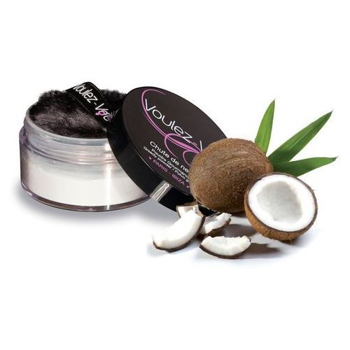 Smaczny pyłek do ciała - Voulez-Vous... Edible Body Powder kokos