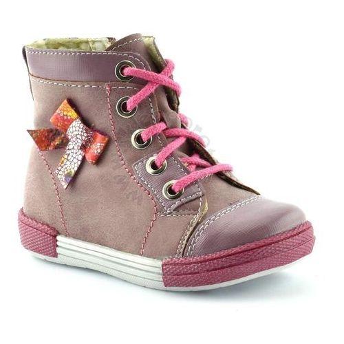 Buty zimowe dla dzieci 04992 - różowy marki Kornecki